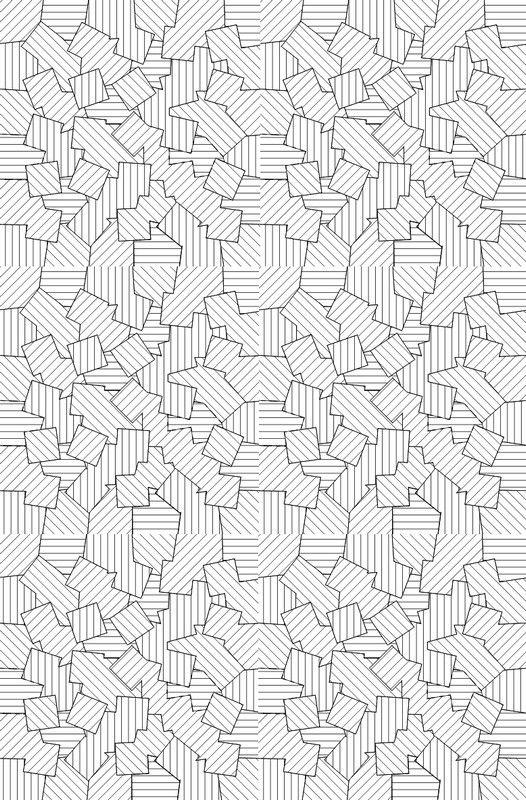 Coloriage adulte Motifs geometriques 8