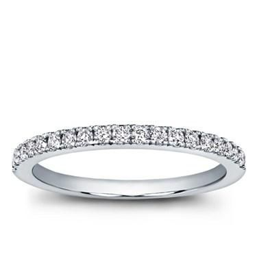 Classic Pave Wedding Band - R2935 (no) 1.7mm