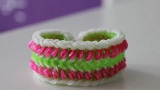 gumičky náramek - YouTube
