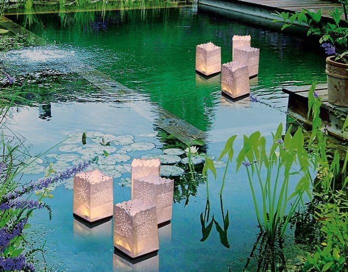 Les 25 meilleures id es de la cat gorie lanternes - Lanterne de jardin papier ...