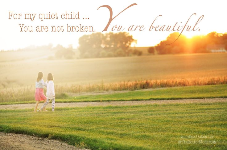 We live in a world that values extroverts, that sings the praises of those who have a strong voice. But what about when your child is shy, introverted, or has a quiet gift that only you can see for now? Be encouraged to advocate for and speak life into your child today at The Better Mom.