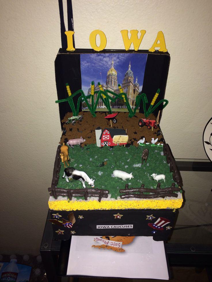 Iowa school float project | Projects | Pinterest | Iowa