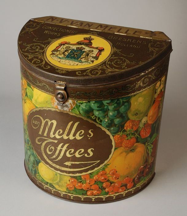 Dutch toffee tin
