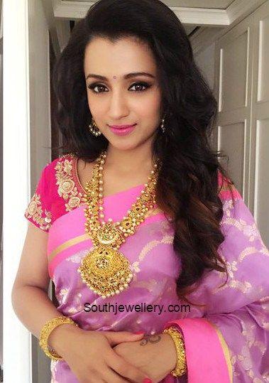 Trisha Krishnan in NAC Antique Jewellery