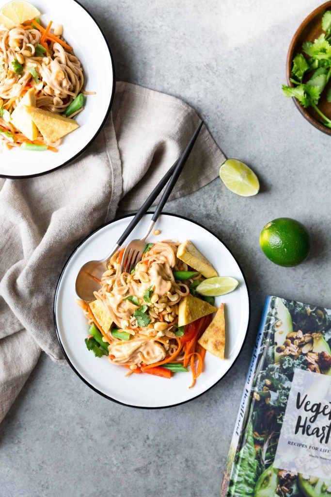 Nouilles Soba Épicées aux Arachides et au Tofu