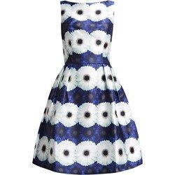 Chi Chi London Sukienka letnia blue flower