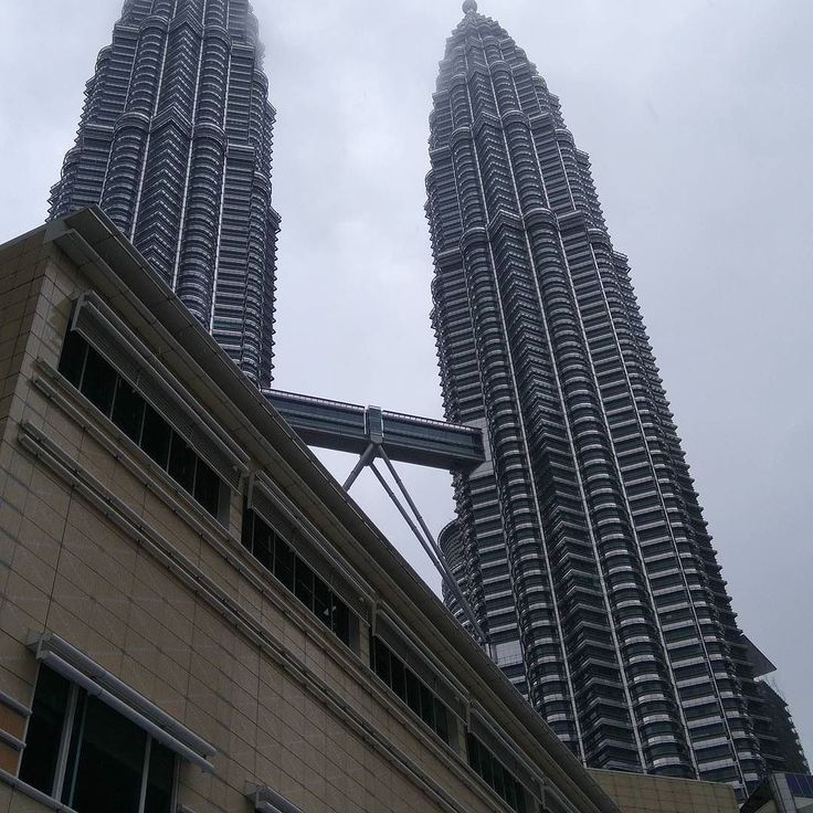 Wet and miserable last day in KL for 2017. Maybe the towers are sad to see me go? #travel #kl #kualalumpur #malaysia #petronas