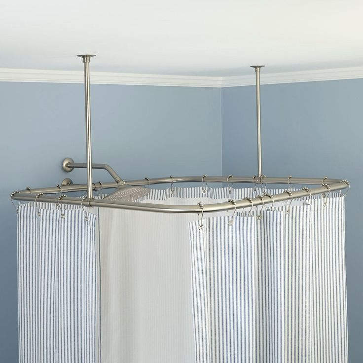 33 best curtain rod images on Pinterest | Ceiling mount curtain ...