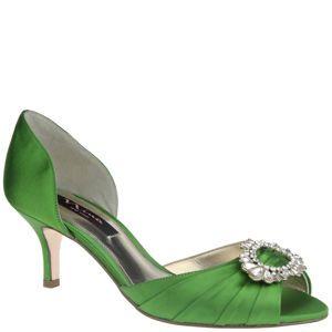 Nina CRYSTAH LUS SATIN By Shoes 89 25 Heel