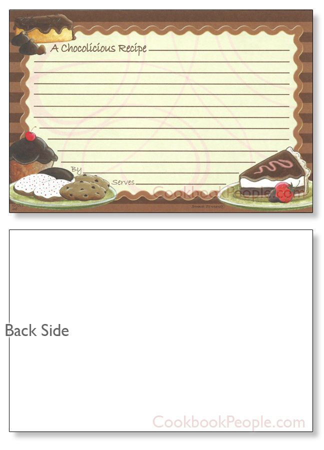 409 best Recipe Cards images on Pinterest | Printable recipe cards ...