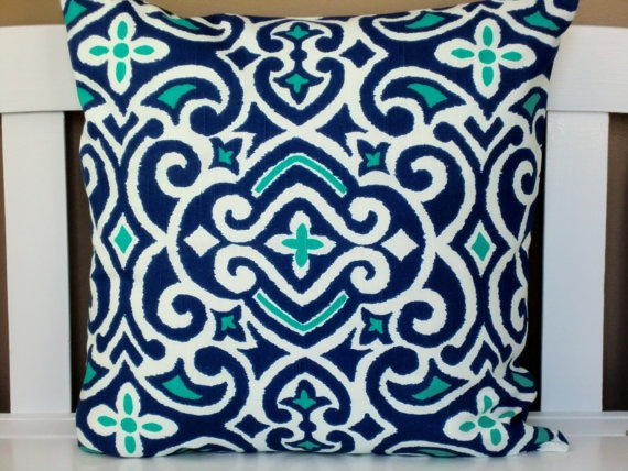 navy and turquoise pillow cover turquoise chairs white desk navy rug ...