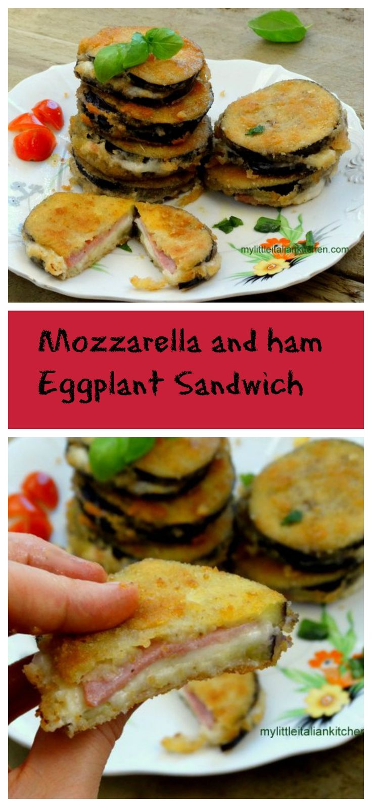 Eggplants, Hams and Mozzarella on Pinterest