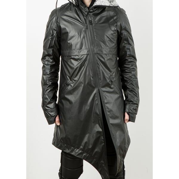 Заблуждение | Морозное пальто черного цвета | тундра