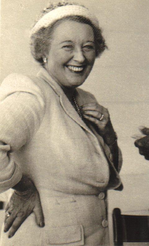 Helen Mansergh, early 1950s