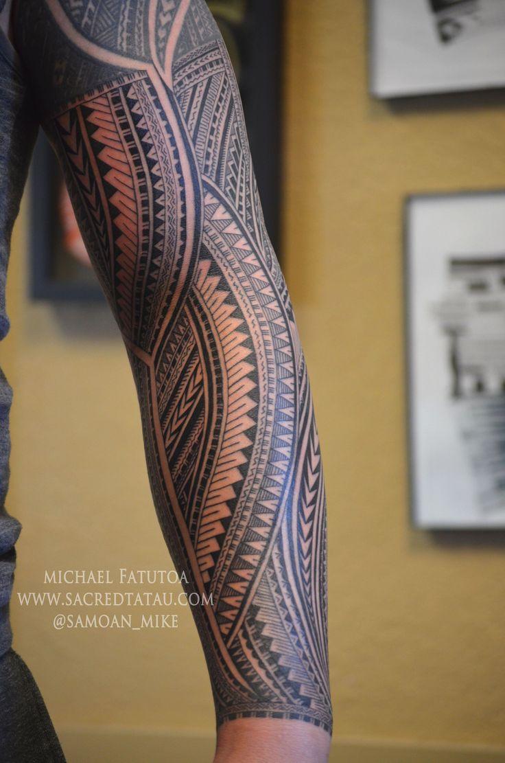mehr noch zur struktur der samoanischen armmanschette von michael fatutoa @samoan_mi …