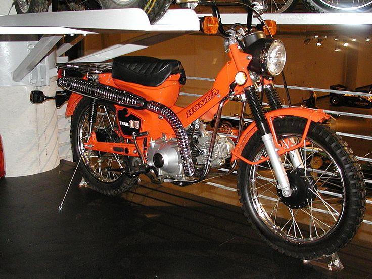 File:Honda TRAIL110 CT110 Hunter Cub.jpg - Wikipedia, the free encyclopedia