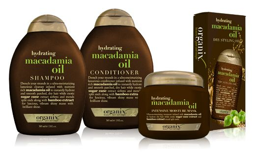 Organix ® Conditioners. Macadamia is my fave but I love all of them! Very affordable too, usually on sale at local drugstores. $7.00
