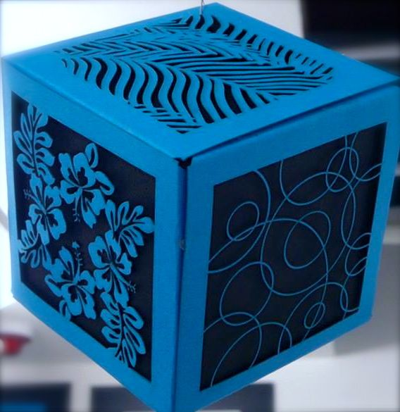 First year box-in-a-box laser cutting project