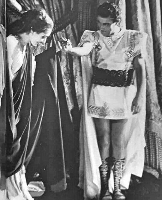Maria Callas e Mario del Mônaco. Ópera Norma.