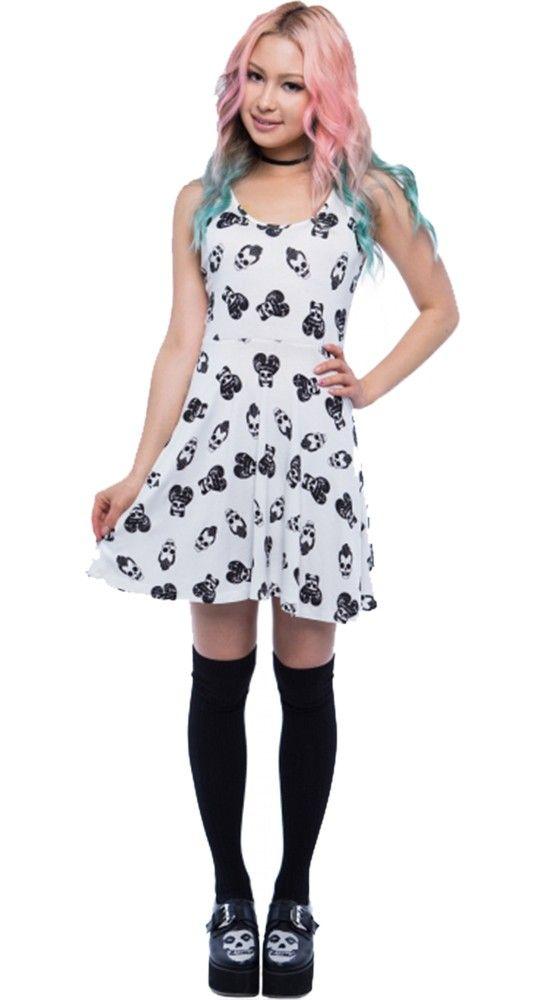 Iron Fist Skull A Billy Skater Dress   Blame Betty