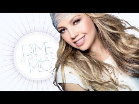 Thalia - Amore Mío (Letra / Lyric Video) - YouTube
