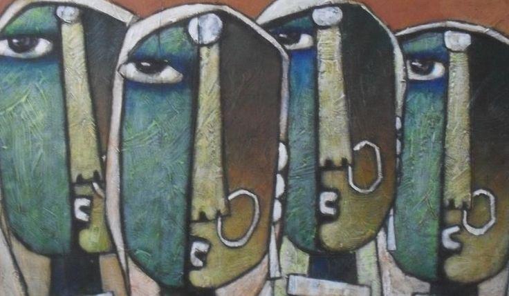 Painting by K.Koria