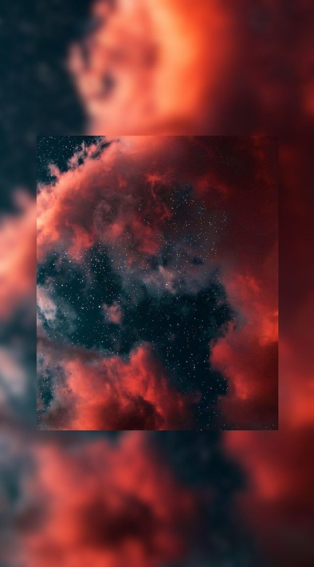 Red Orange Clouds Aesthetic Clouds Red Aesthetic Cloud Wallpaper