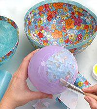 Dekorative Schalen – einfach selbst gemacht!