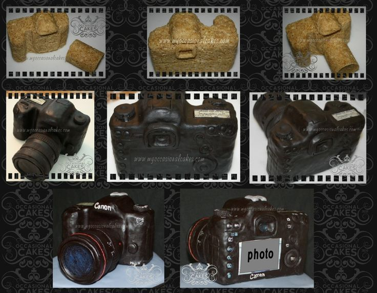 Canon Mark III camera cake
