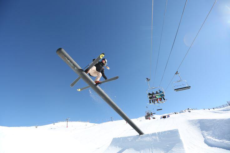 Canon at Big Bucks Park 2014. Good times! #newschool #ski #cardronaparks