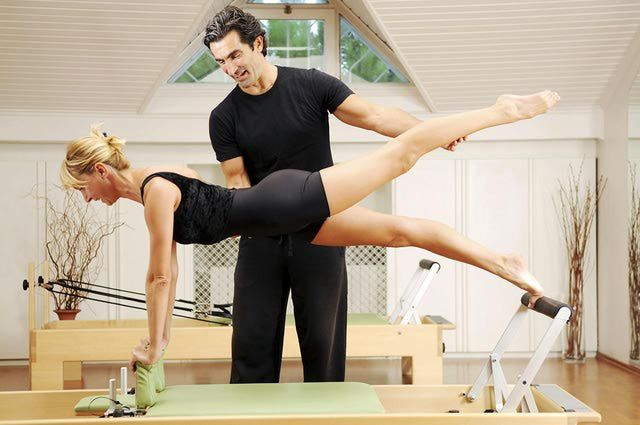 Balance Control Front - #Pilates - Loved and Pinned by www.HottiePilatesBody.com of Los Angeles, CA