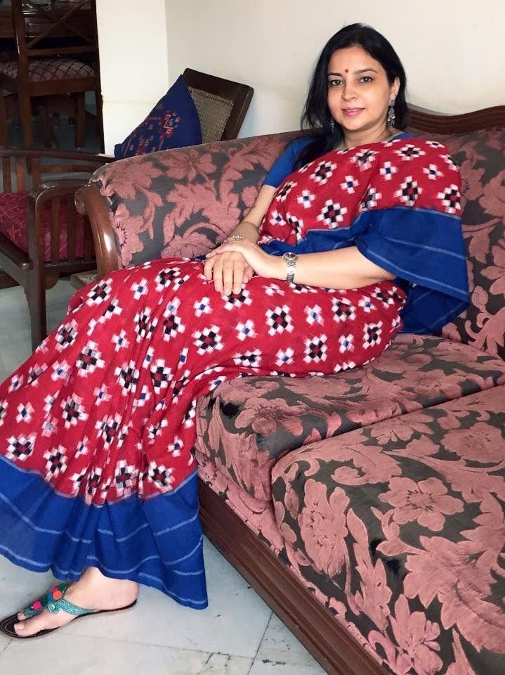 A lovely #cotton #ikat #sari