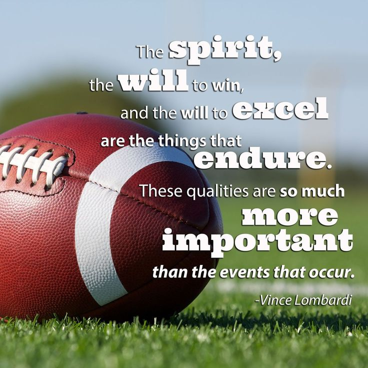 Football quote by Vince Lombardi Football Quotes