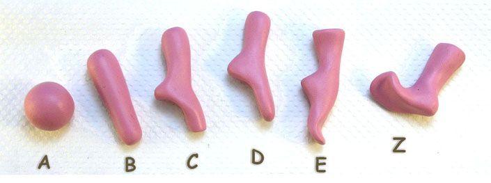 HowTo Make Polymer Clay Feet