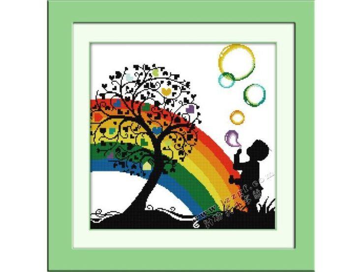 Bimbo arcobaleno esempio