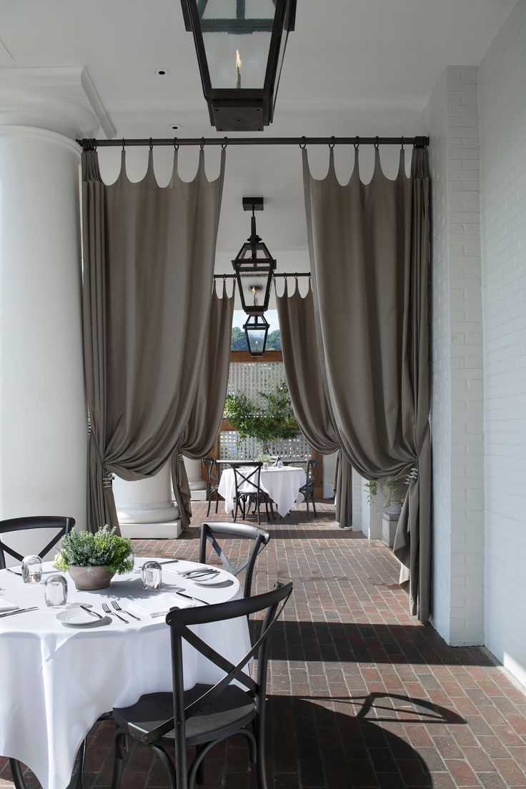 Hospitality and hotel window treatments sheer shades solar screen - In This Renovation Galley Garden A Long Established Birmingham Restaurant Asked
