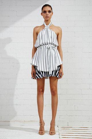 Shona Joy La Raya Knot Layered Mini Dress – Eclectic Ladyland