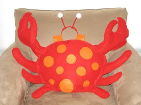The Crowe's Nest: Crab Costume