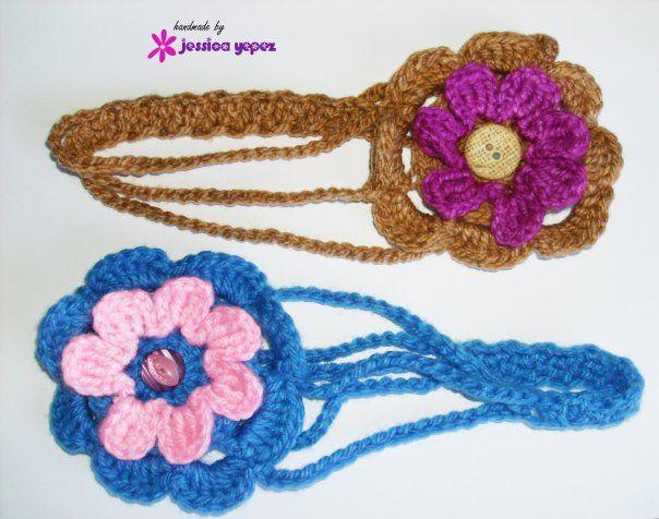 1000 images about accesorios para la cabeza on pinterest - Diademas a crochet ...