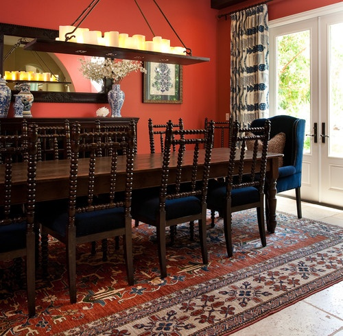 Colonial Dining Room Furniture: This Spanish Colonial Dining Room Is Very Sophisticated