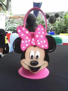 Goma Eva Minnie Mouse | la casa de chichi: Dulceros MIKE&MIMI para fiestas infantiles