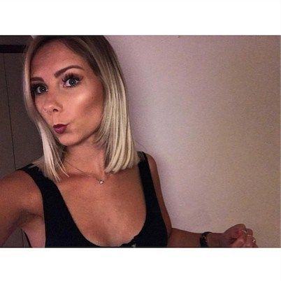 ZADA CREATIONS || GET THE CHOP & PLATINUM LOOK BY HOLLY  Book in today! 9997 5091    #lob #bob #platinum