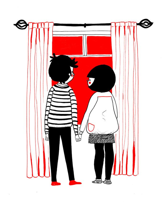 Charming Illustrations Highlight True Love in All of Life's Little Moments - My Modern Met