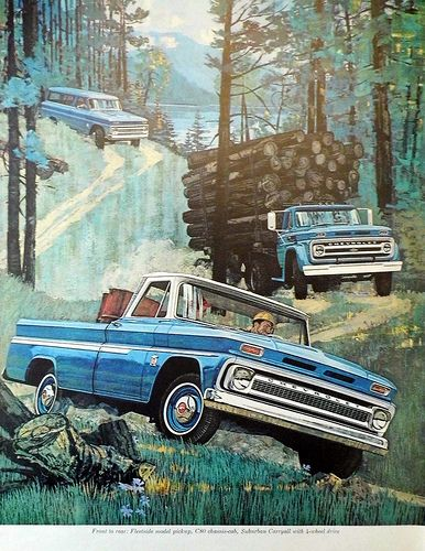 "Vintage Automobile Advertising: 1964 Chevrolet Trucks, ""Quality Trucks Always Cost Less!"", Look Magazine, December 3, 1963."