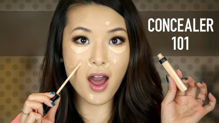 Concealer 101 Tips for a Flawless Face  Here's a basic breakdown of concealers from low to high-end and a tutorial of how to apply it for a full-coverage, natural look that covers spots