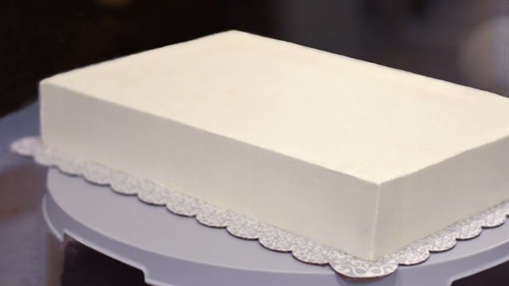 ***EDIT*** What I do now is I put down parchment on a cutting board, cover it in buttercream then lay the chilled cake on top and smoosh it down until it's level. Put the cardboard on top, fill the sides and ice it until its smooth with the bench scraper,. How, Cake,