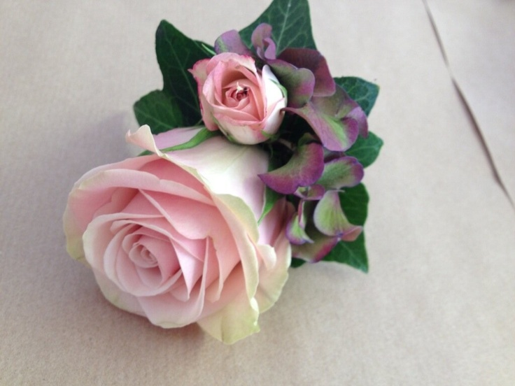 Flowers by Jan Park at Blue - perfect for buttonholes.