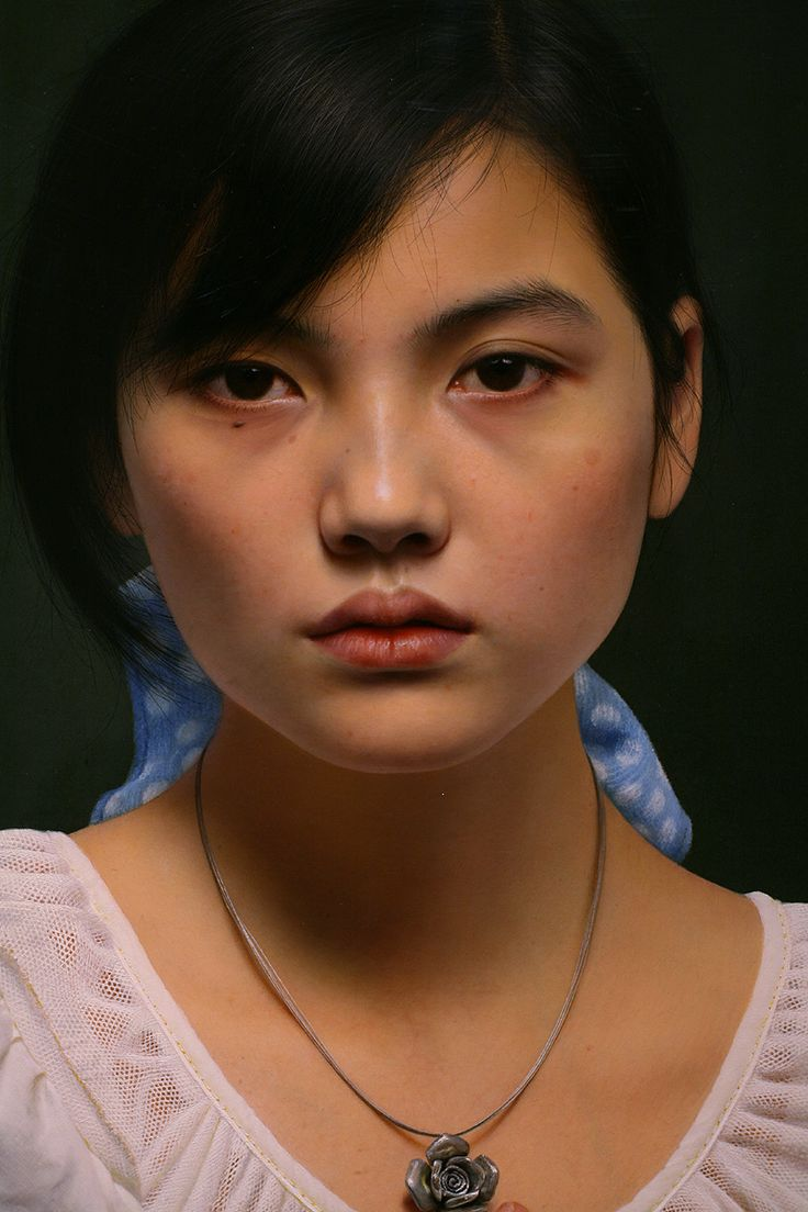 Best Leng Jun Images On Pinterest Art Designs Chinese - Artist creates stunning hyper realistic paintings of women
