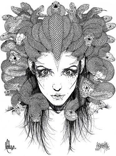 m s de 25 ideas incre bles sobre gorgona medusa en pinterest mitolog a griega medusa tatuaje. Black Bedroom Furniture Sets. Home Design Ideas