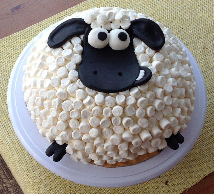 fåret shaun tårta - Google Search